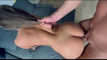 Fucked big ass milf with creampie