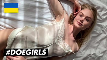 DOEGIRLS - (Nancy A, Martin) - Natural Tits Teen Blonde Teases Her Boyfriend And Gives Him The Best Blowjob