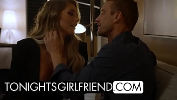 Tonight's Girlfriend - Kayley Gunner lets fan take control of her while they fuck