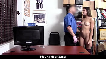 Teen Caught Red Handed Thieving and Fucked