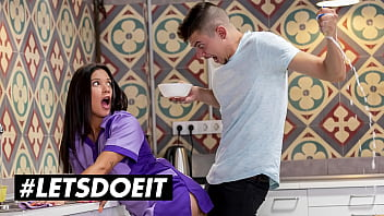 HORNYHOSTEL - (Jade Presley,Tommy Cabrio) - Big Booty Latina Maid Gets Her Asshole Gaped Hard