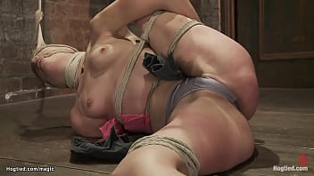 Lesbian Tied On  The Floor Fisted ed