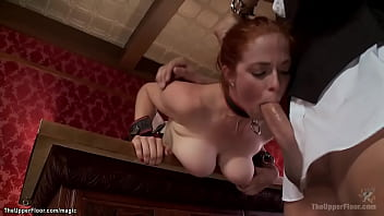 Busty redhead and brunette are fucked 5分钟
