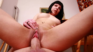 Mature German Stud Bends Over Horny Teen Babe