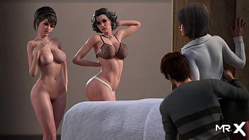 Lust Epidemic = Lesbians Play With Tongue #27
