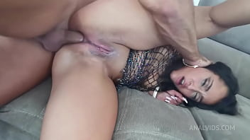 New arabic french girl Anal fisting and internal and oral multi cum