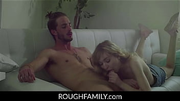 Adorable Skinny Sister Rough Vaginal Pounded