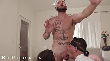 BiPhoria - Hot Karate Master Trains Students With His Big Dick