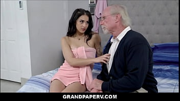Tiny Latina Teen Granddaughter Fucked By Grandpa After Catching Him Spying  - Sofie Reyez, Jack Moore
