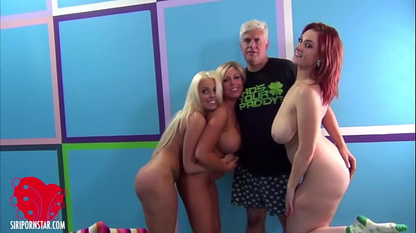 Siri Pornstar Britney Amber And Heidi Hollywood Get 2 Ds In Group Sex