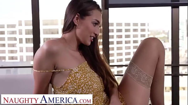 Naughty America - Rich brat Bella Rolland is ready for her dad's employee to stick his cock in her pussy