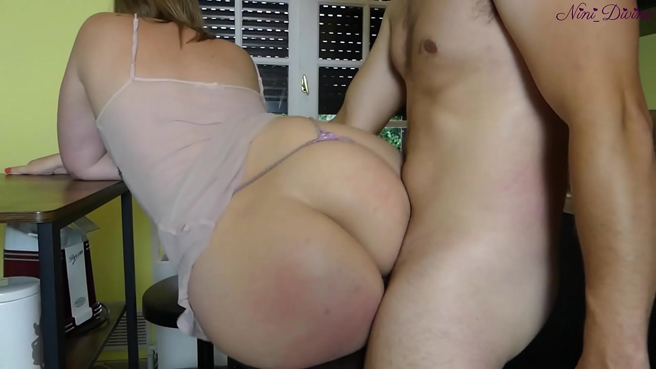 My Stepmom And Her Big Ass Want A Huge Cock For Breakfast!