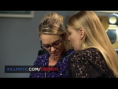 Tiffany Leiddi and Lucy Heart share a moment of extasy