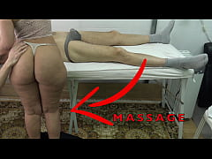 Maid Masseuse with Big Butt let me Lift her Dress & Fingered her Pussy While she Massaged my Dick !