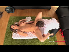 Hot Aleska Diamond's Buttholed By her Hung Masseur with anal fingering and facial - 4K Teaser