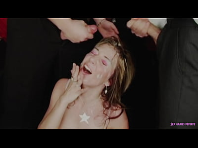 Nasty Czech blondie fucked and covered by huge ...