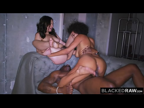 BLACKEDRAW Besties Violet & Alina are on the prowl for BBC